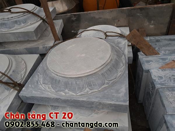 Chân tảng đá kê cột đẹp CT 20