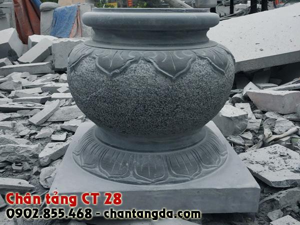 Chân tảng đá kê cột đẹp CT 28