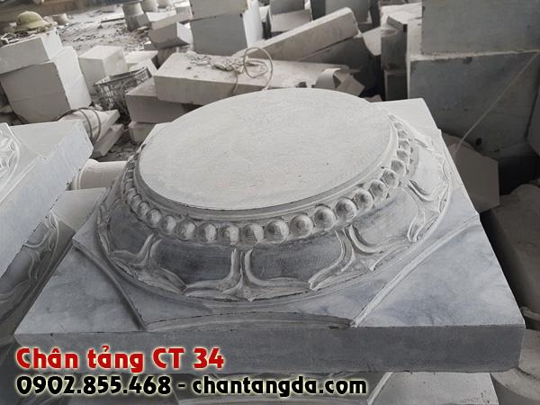 Chân tảng đá kê cột đẹp CT 34