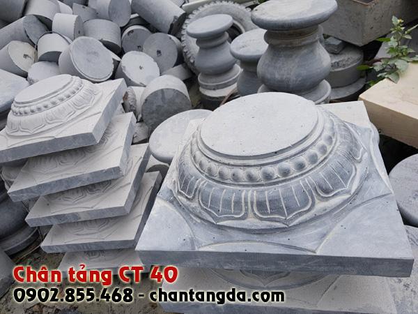 Chân tảng đá kê cột đẹp CT 40