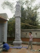 Cột đá vuông CT 04