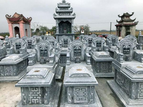Mẫu lăng mộ gia đình CT 09