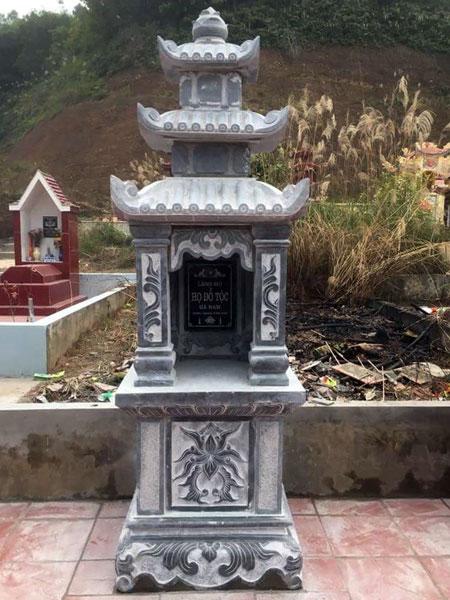 Mẫu mộ ba mái CT 10