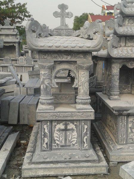 Mẫu mộ công giáo CT 01