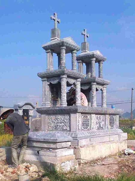 Mẫu mộ công giáo CT 03
