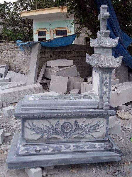 Mẫu mộ công giáo CT 05