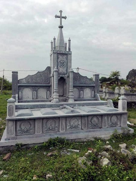 Mẫu mộ công giáo CT 07