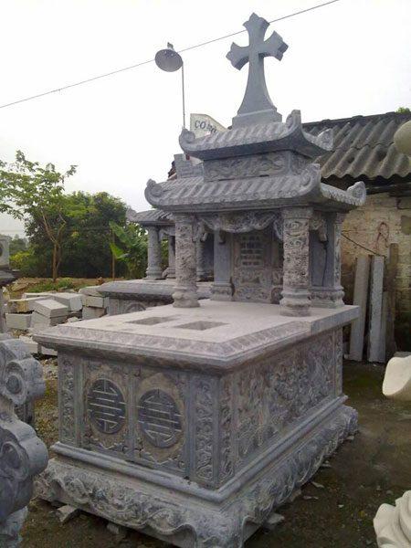 Mẫu mộ công giáo CT 10