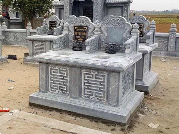 Mẫu mộ đôi CT 02