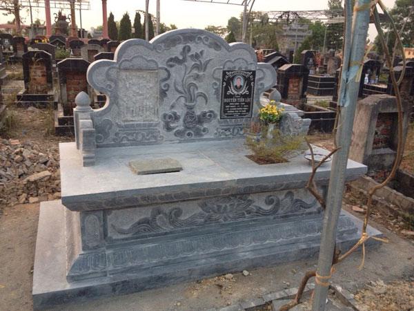 Mẫu mộ đôi CT 03