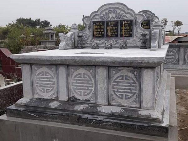 Mẫu mộ đôi CT 09