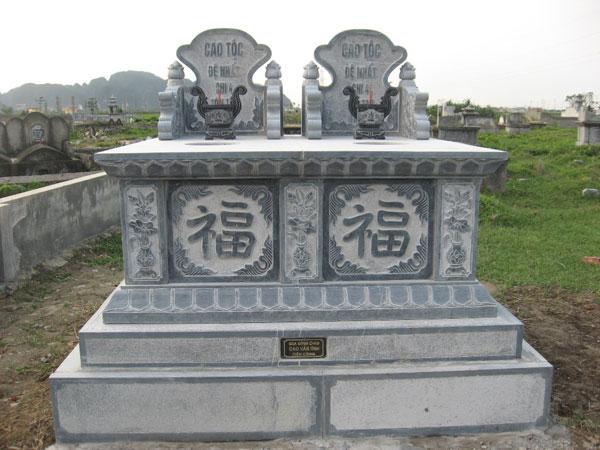 Mẫu mộ đôi CT 10