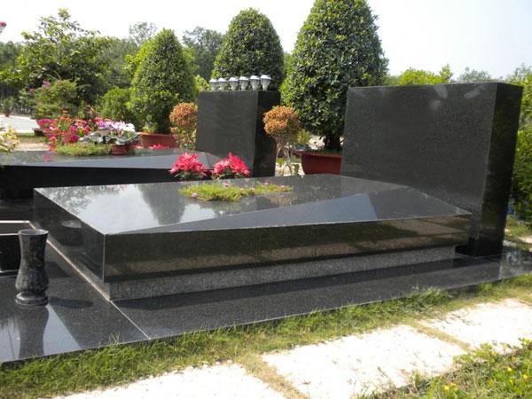 Mộ đá hoa cương granite CT 05
