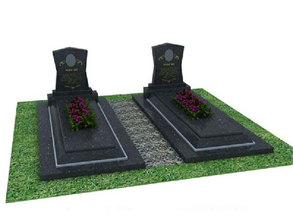 Mộ đá hoa cương granite CT 07
