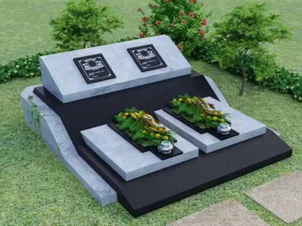 Mộ đá hoa cương granite CT 10